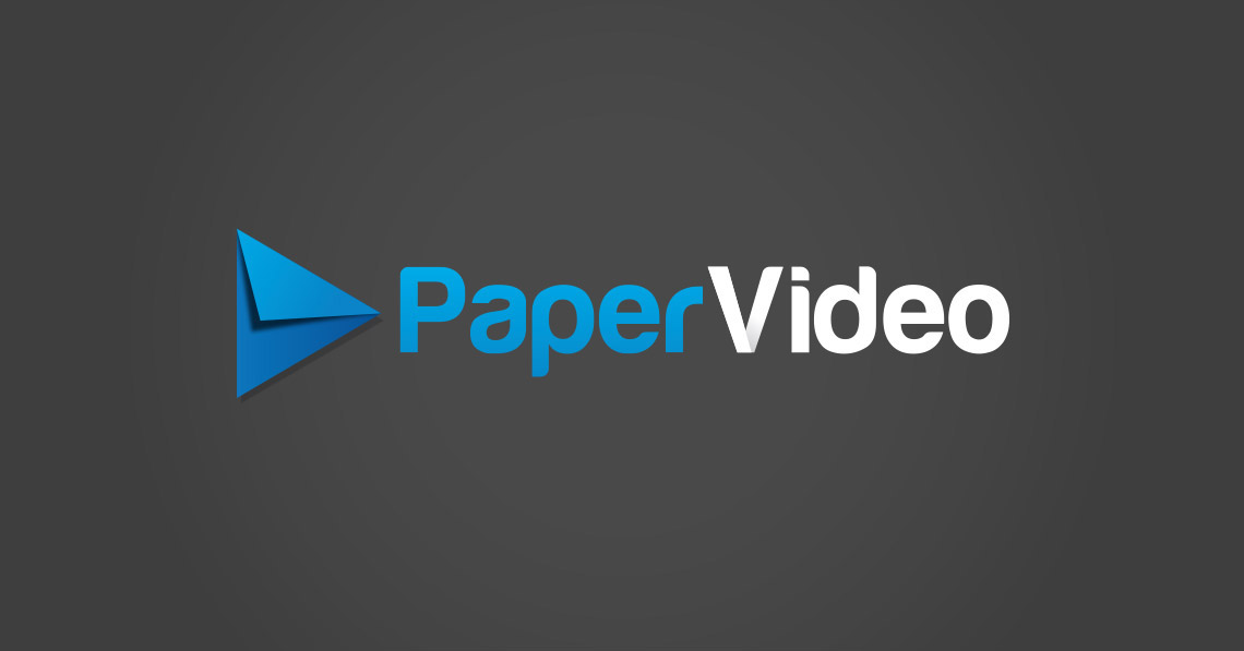 Logo and Branding - Paper Video