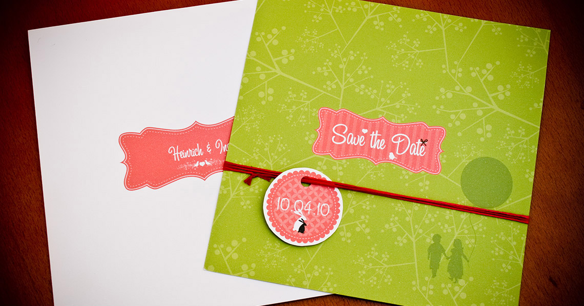 Wedding Stationery - Rudi and Natalie Wedding
