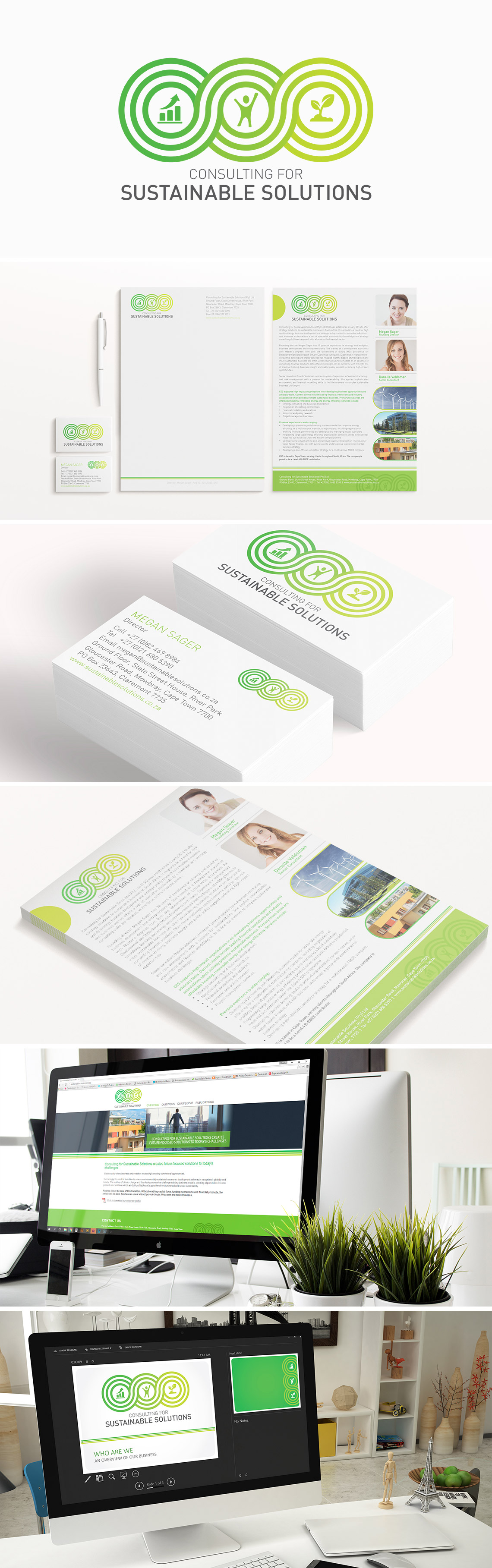 Logo and Branding Sustainable Solutions
