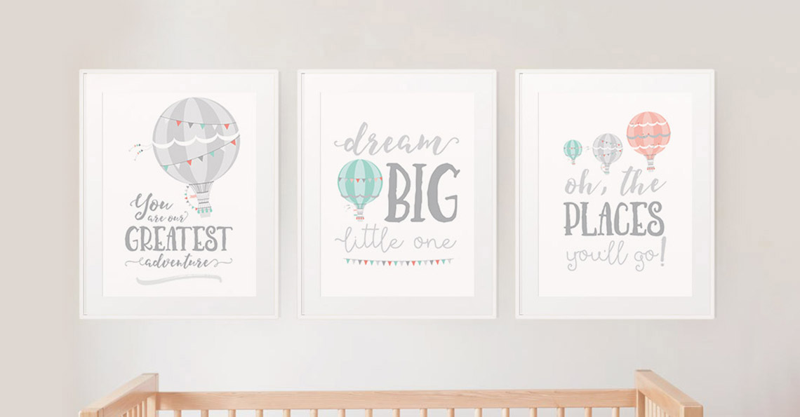Poster Illustration - Anje's Nursery