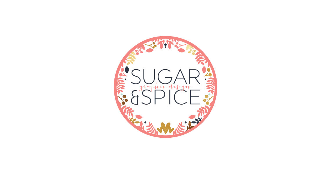 Logo and Branding - Sugar and Spice Design