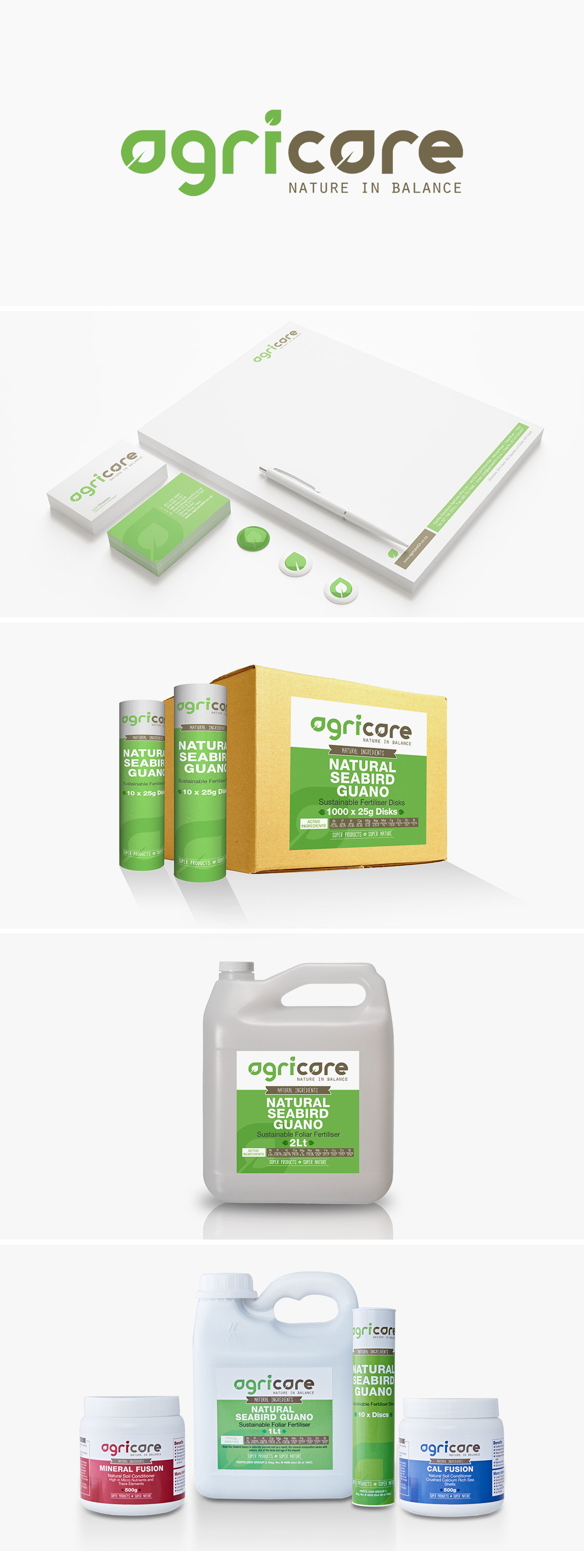 Corporate Identity and Packaging Agricare