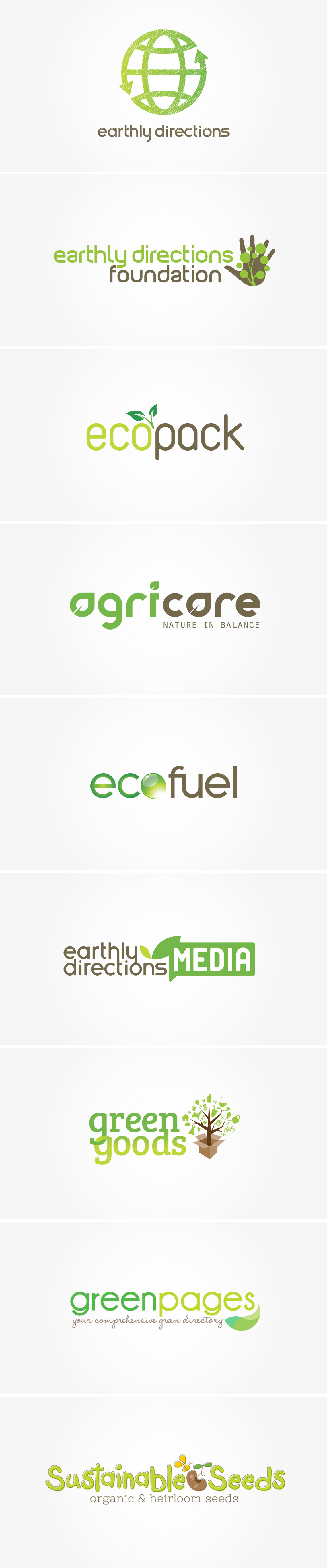 Logo Design Earthly Directions