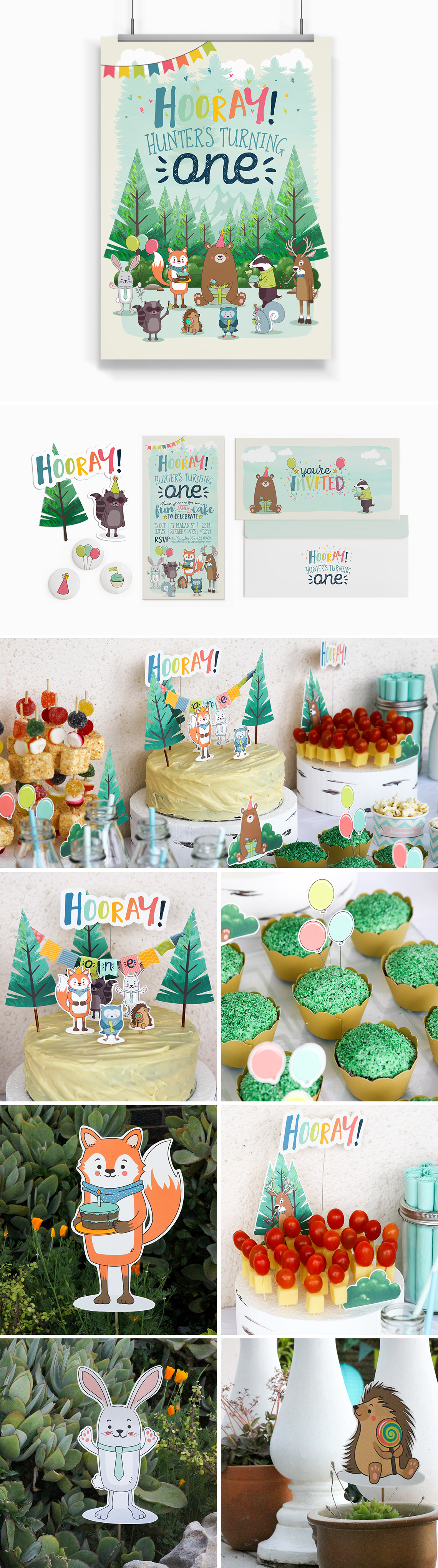 Party Design Hunter Turns One