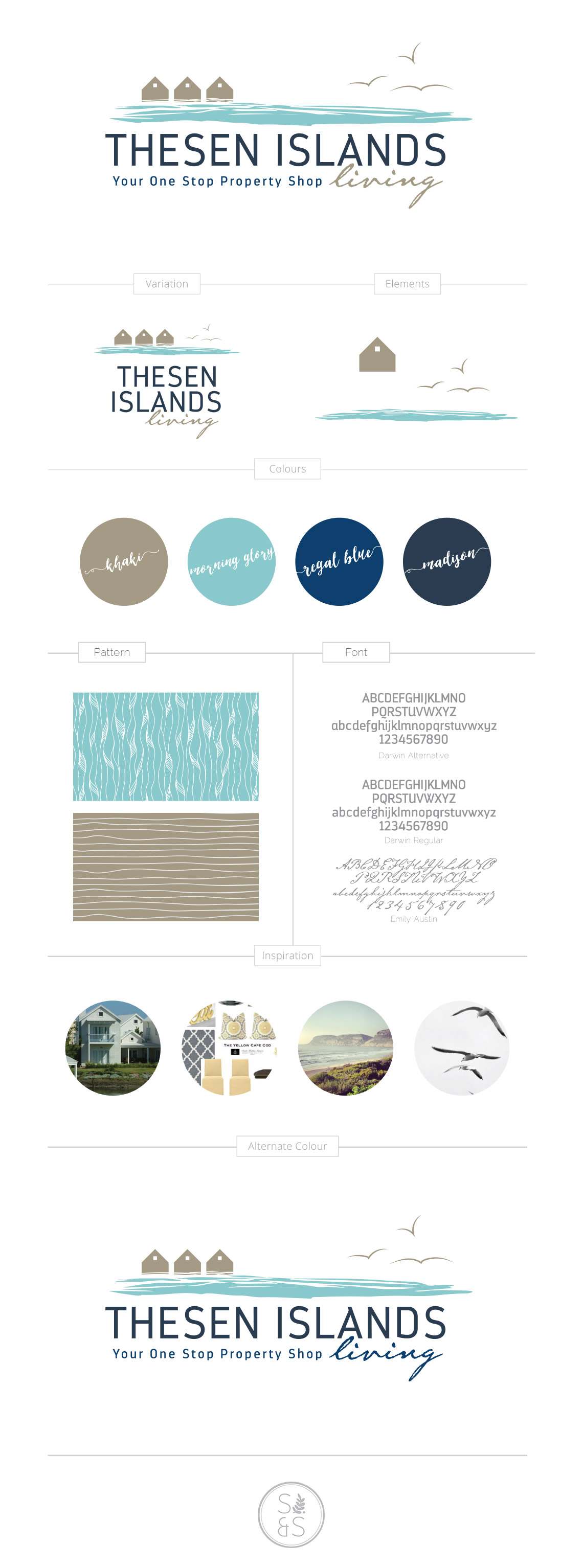 Logo Design Thesen Islands Living